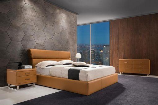 Kožená posteľ 31