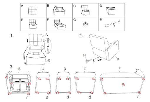 Polohovacia sedačka Jazzy
