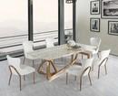Mramorové jedálenské stoly