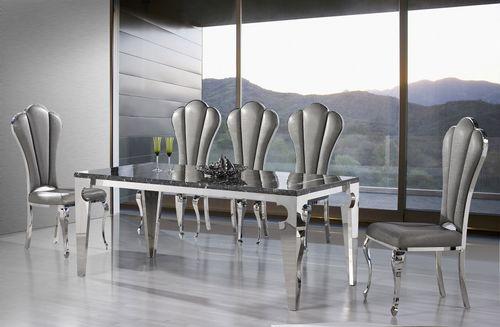 Jedálenský mramorový stôl Shara