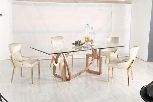Jedálenský sklenený stôl Dreem