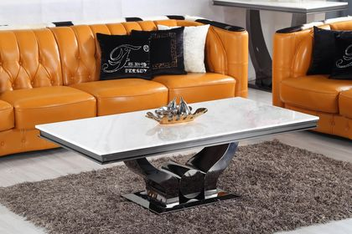 Konferenčný stolík s mramorom CT968