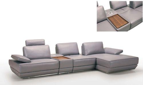 Kožená sedačka Padova