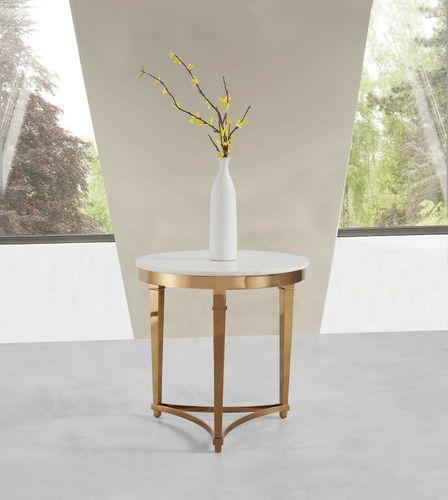 Príručný stolík s mramorom CE595