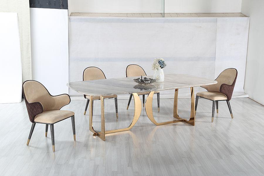 Jedálenský mramorový stôl Blue