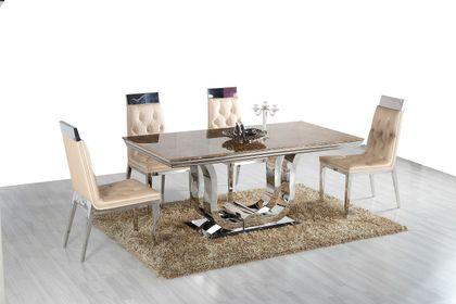 Jedálenský mramorový stôl Carat