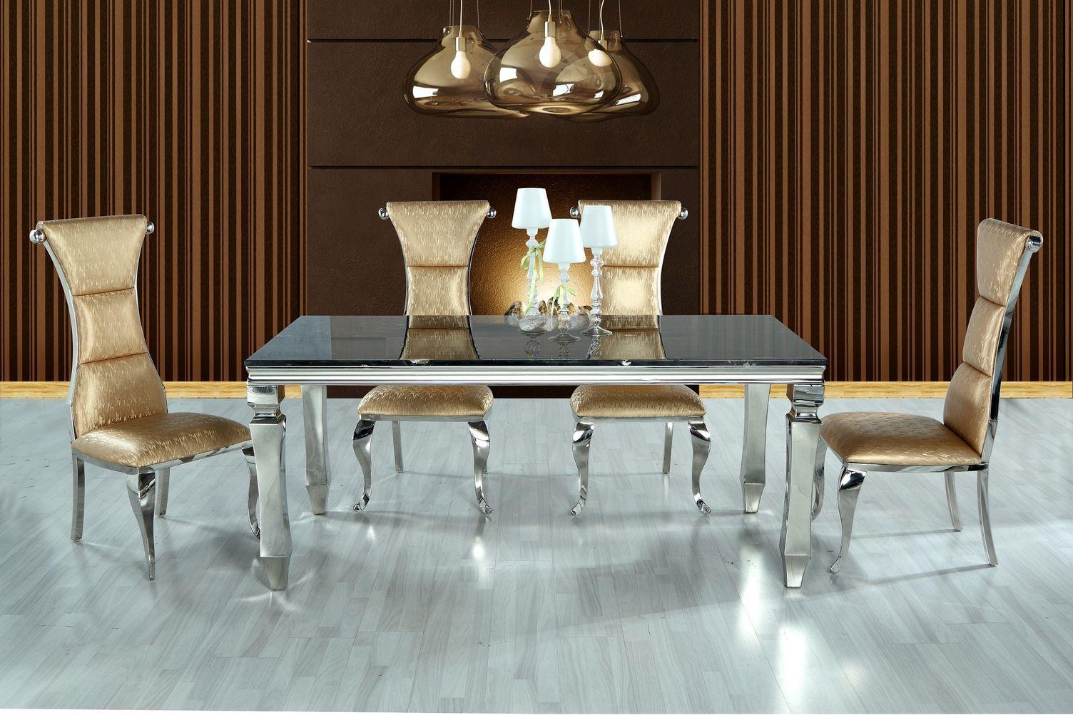 Jedálenský mramorový stôl Loop