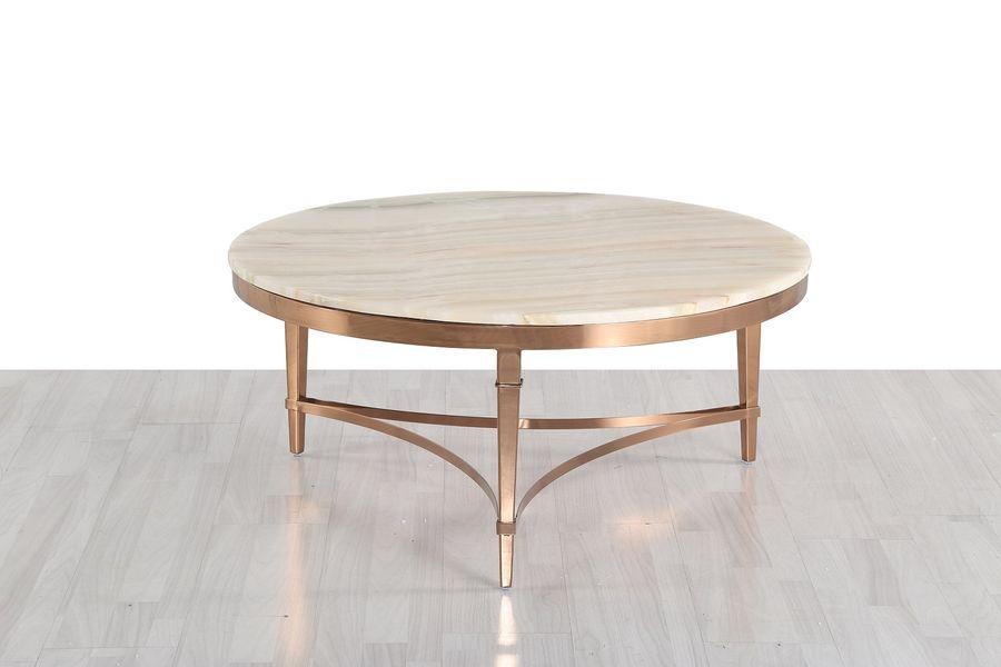 Konferenčný stolík s mramorom CT595