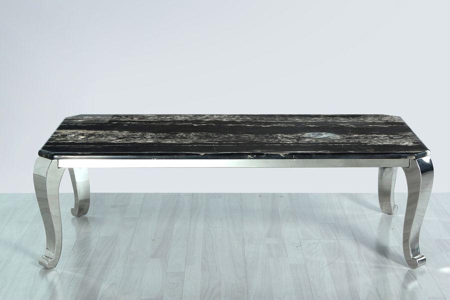 Konferenčný stolík s mramorom CT921