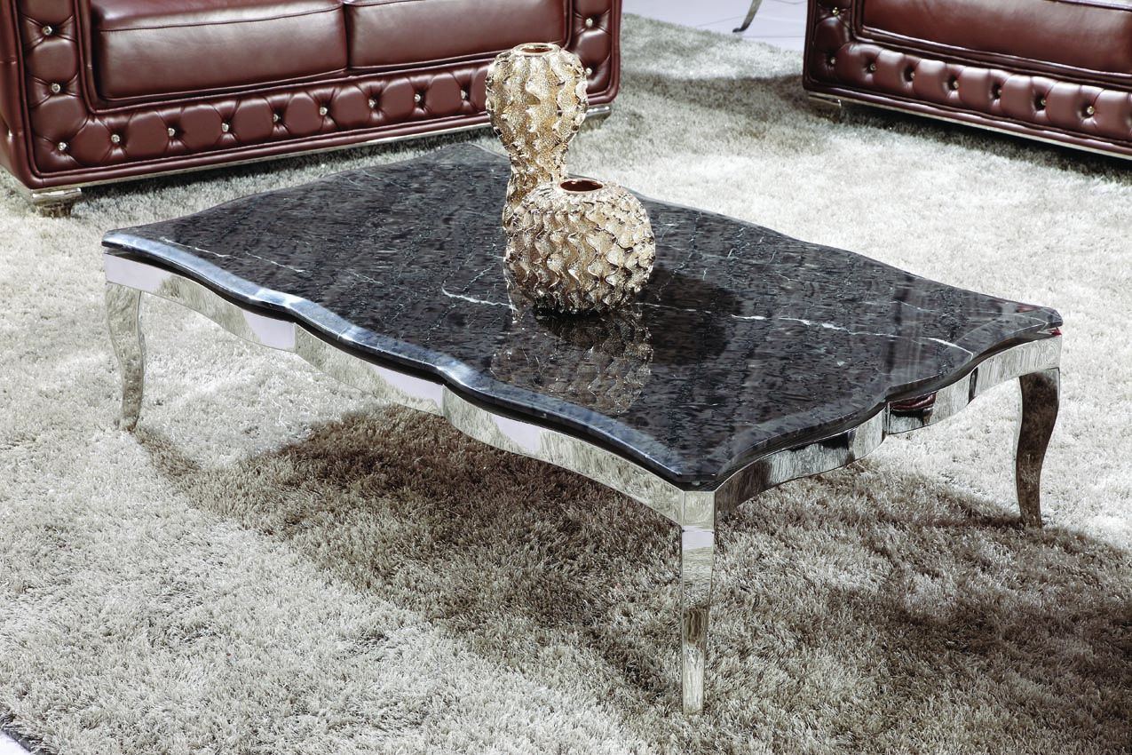 Konferenčný stolík s mramorom CT921A