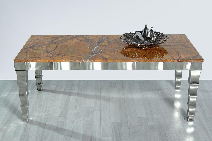 Konferenčný stolík s mramorom CT975