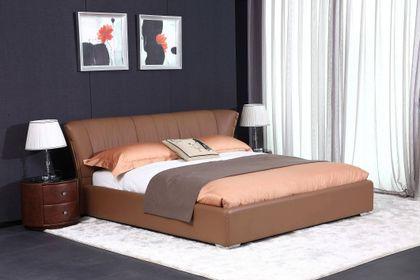 Kožená posteľ 21