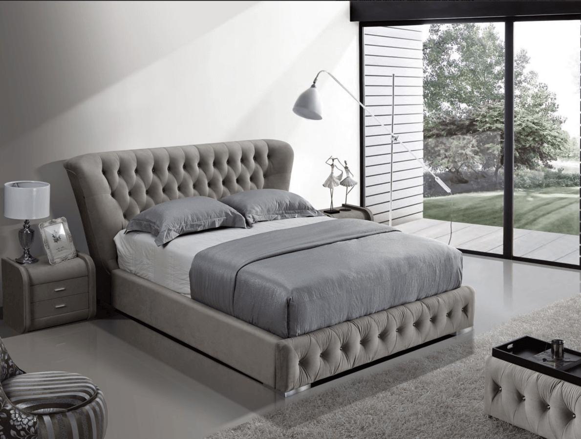 Kožená posteľ 26