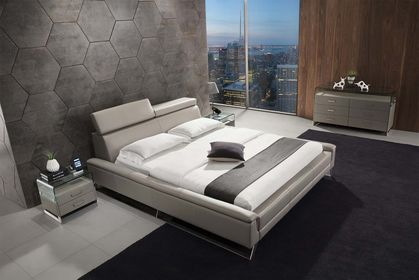 Kožená posteľ 27