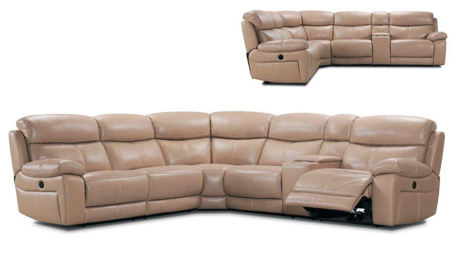 Kožená sedačka Agrinio
