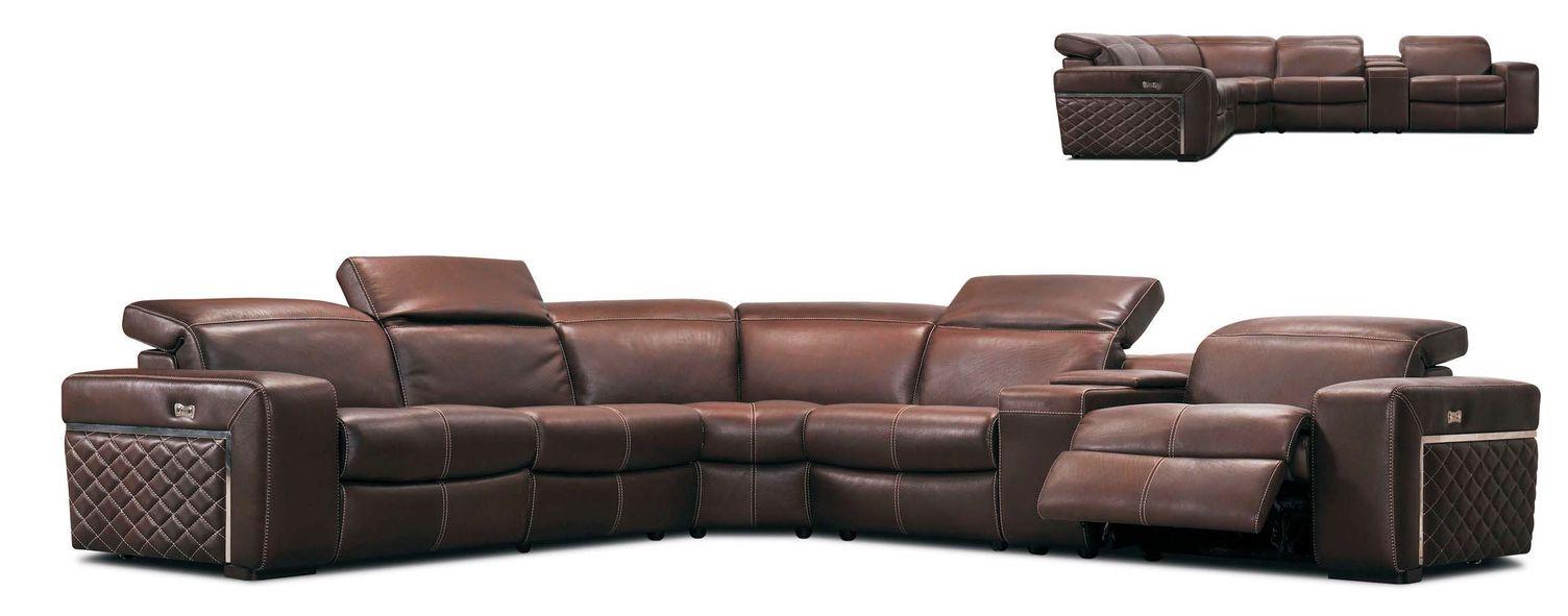 Kožená sedačka Kerkyra