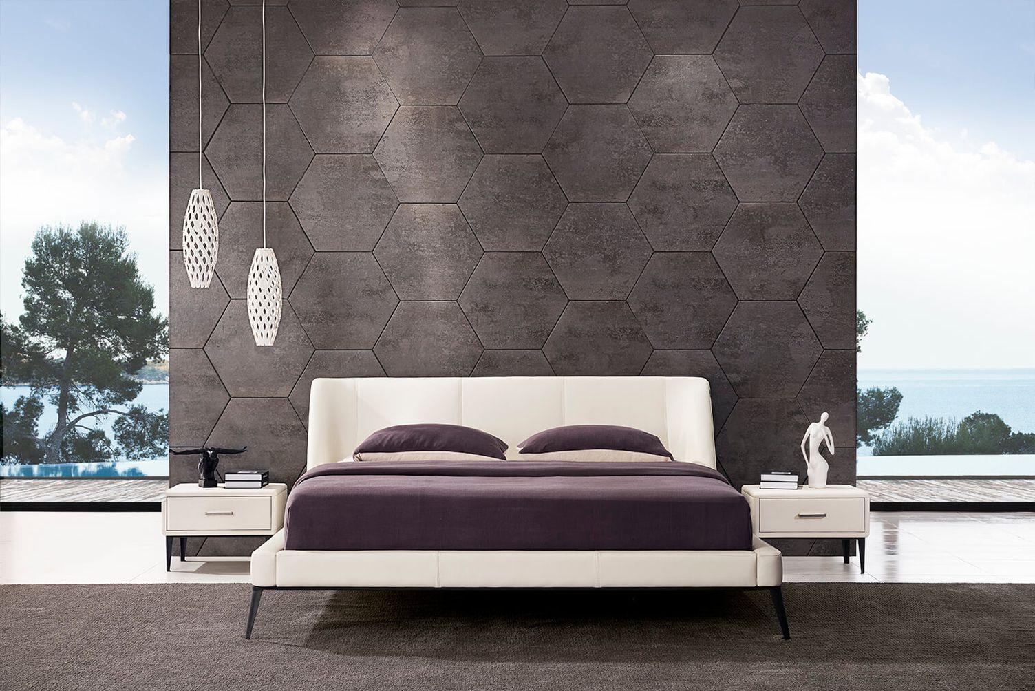 Luxusná kožená posteľ 28