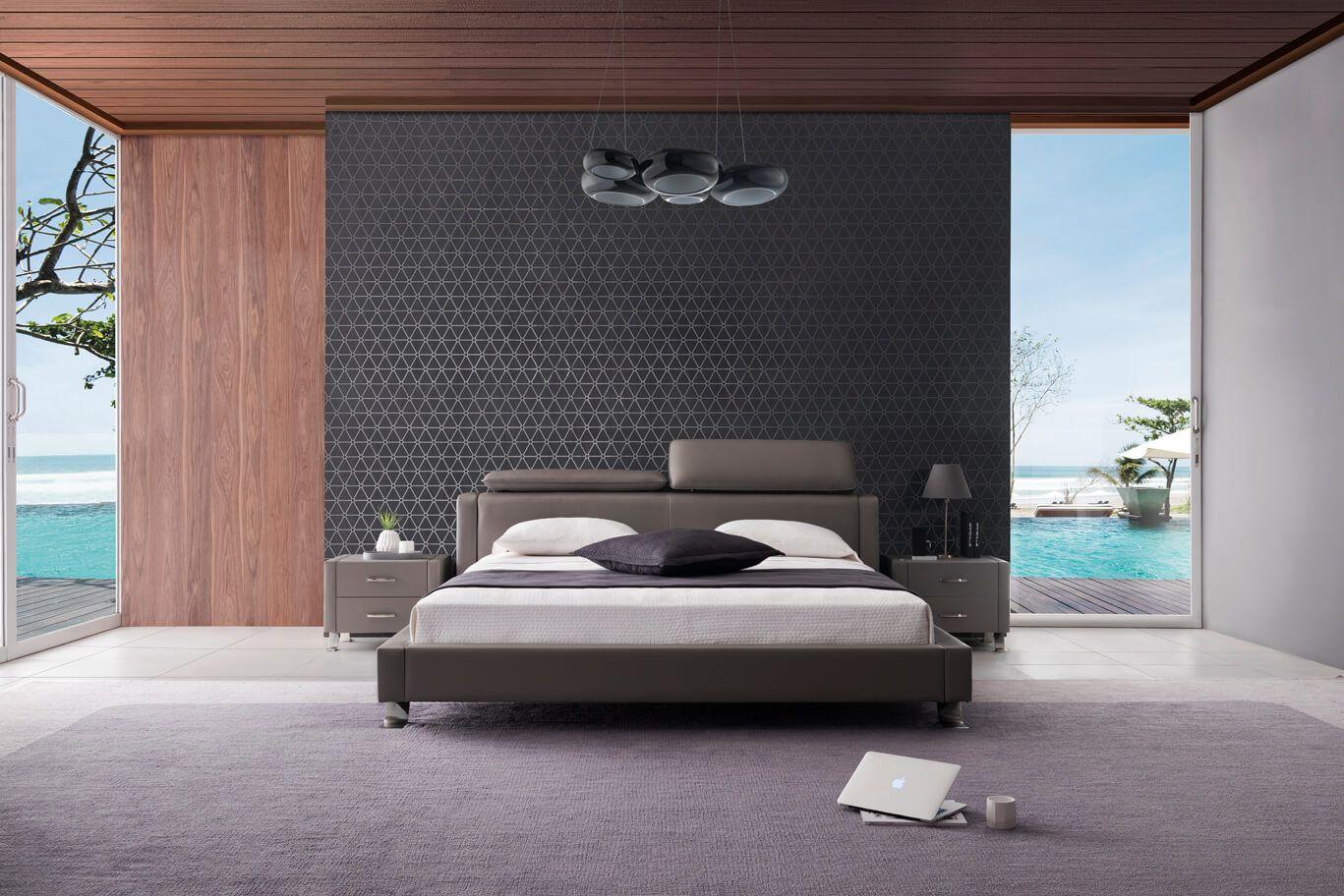 Luxusná kožená posteľ 29