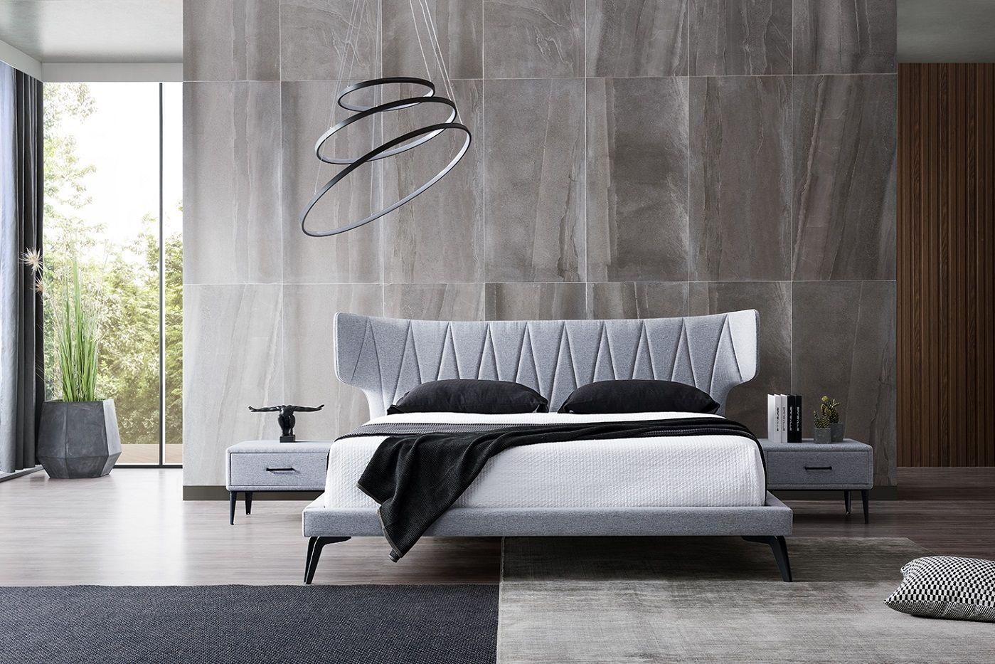 Kožená posteľ 03