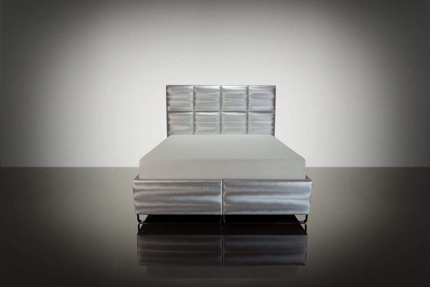 Manželská posteľ LUX10 SILVER