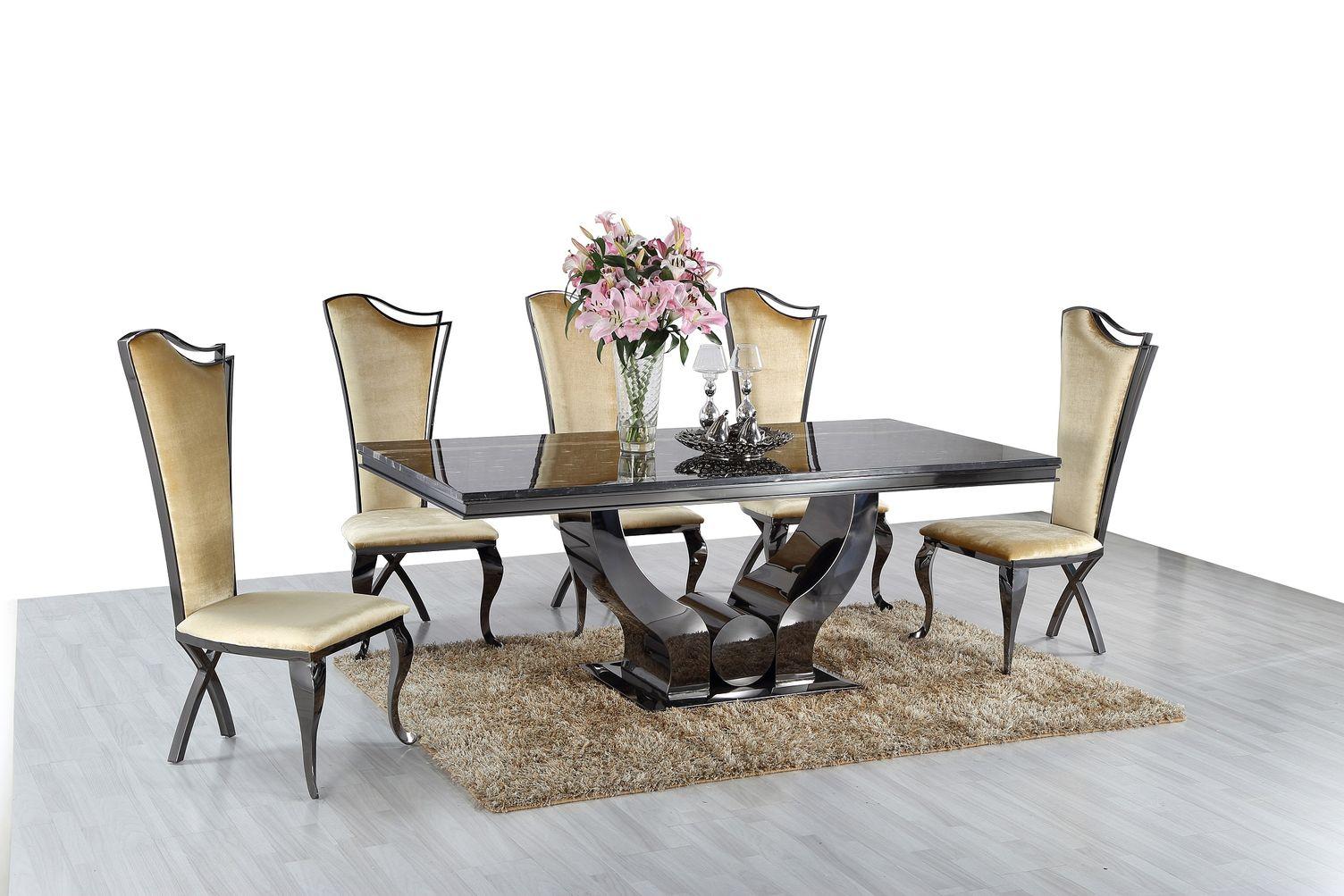 Jedálenský mramorový stôl Diamond