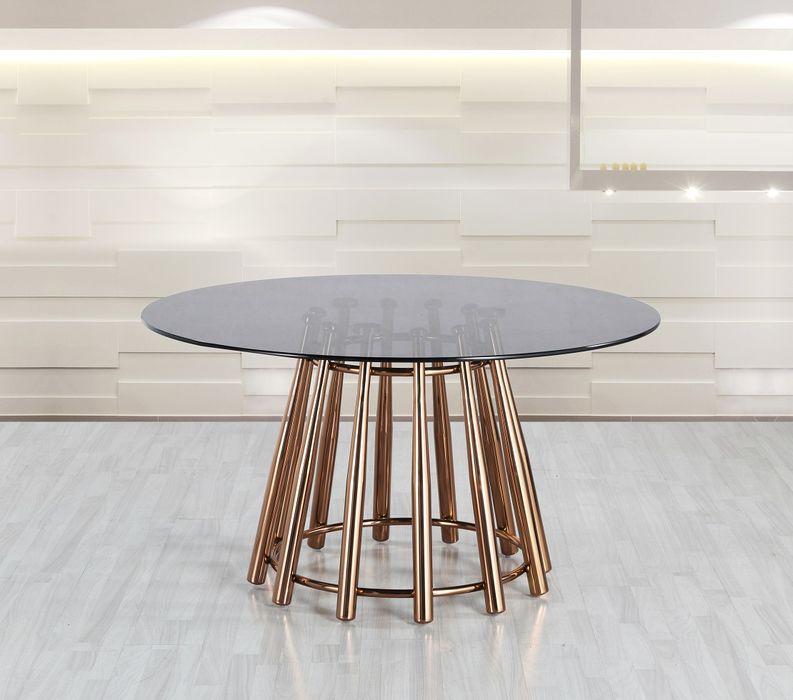 Okrúhly jedálenský stôl Saskia