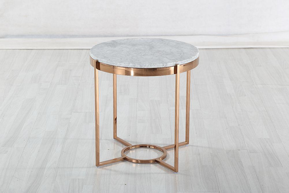 Príručný stolík s mramorom CE300