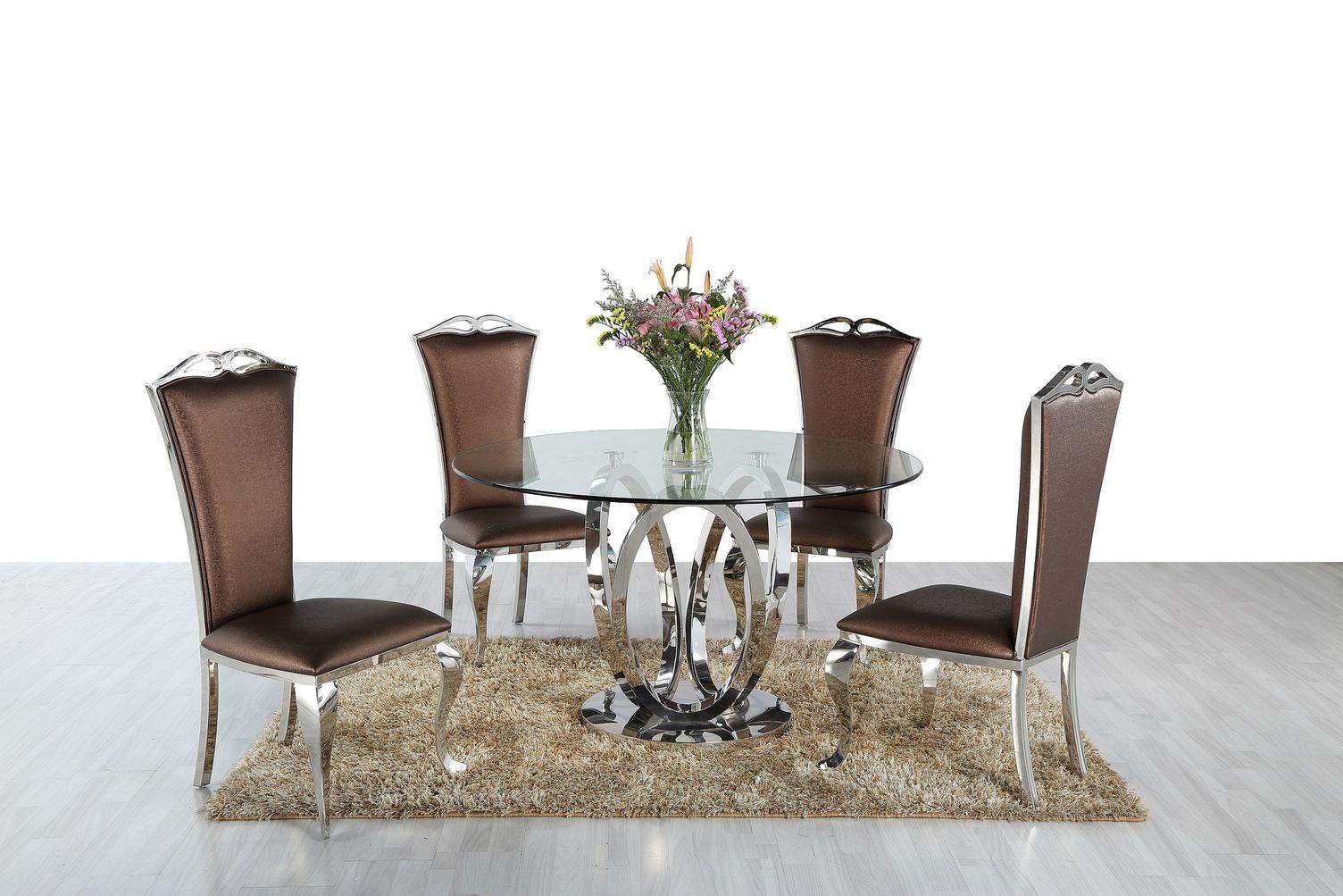 Okrúhly jedálenský stôl Simona